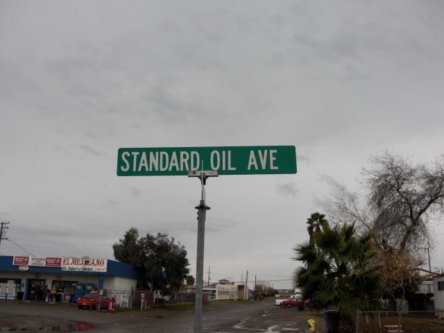 A street in Kettleman City