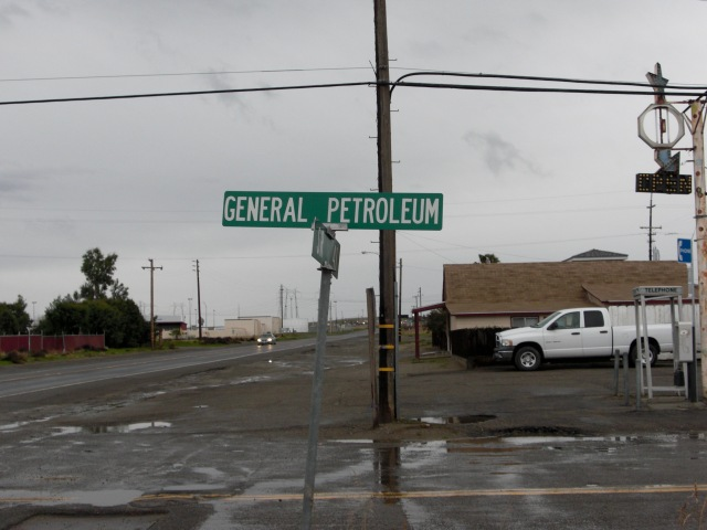 Street in Kettleman City