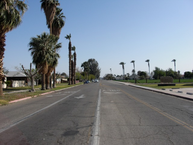 Good street in Blythe