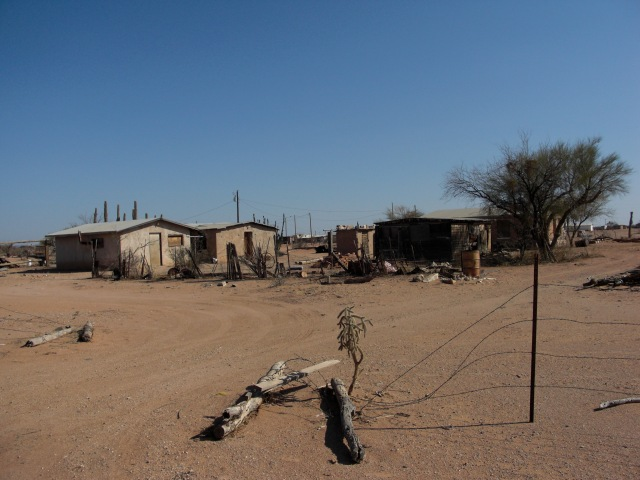 Settlement near Why, AZ