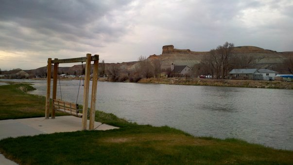 Green River, Wyoming.