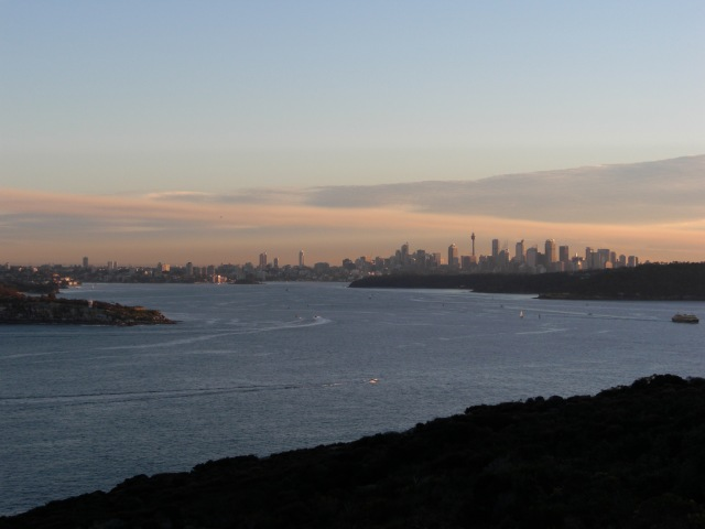 Sydney from Manly.