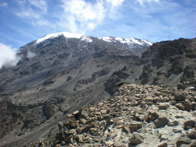 Kilimanjaro to the sky